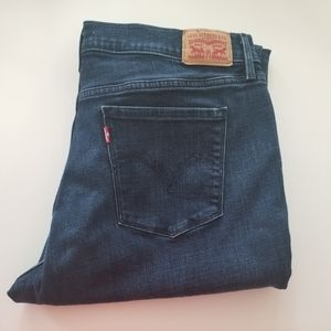 Levi's 505 Straight Leg Jeans 32 Dark Wash